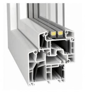 Německý profil aluplast IDEAL 8000 ENERGETO®
